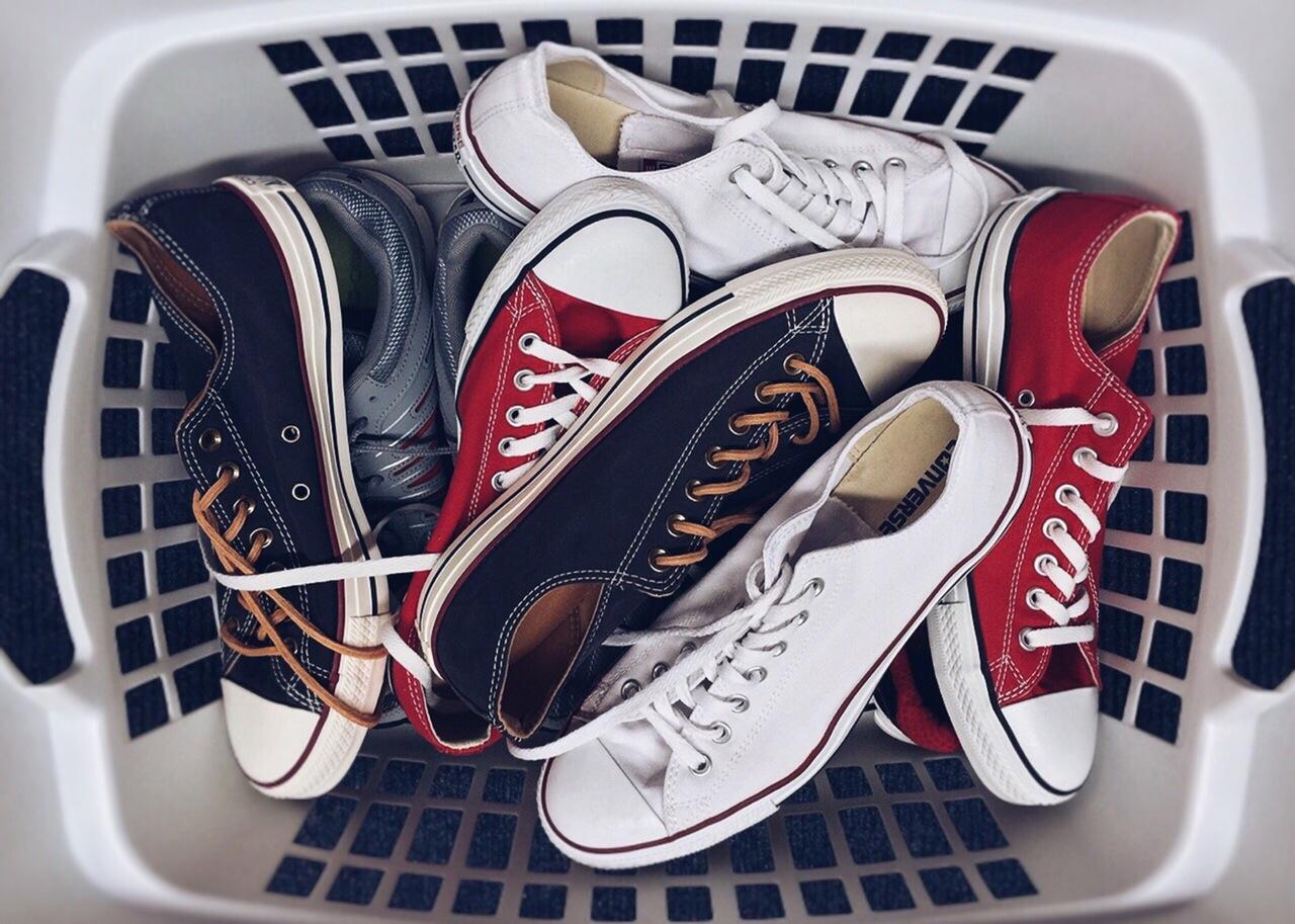 靴こそお洒落感度センサーである。